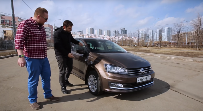 Тест Volkswagen polo sedan 2015 года